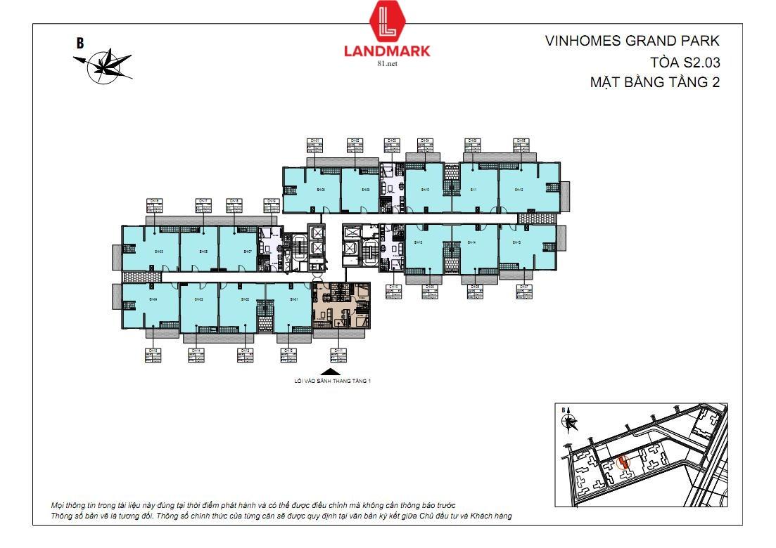 Shophouse chân đế Vinhomes Grand Park