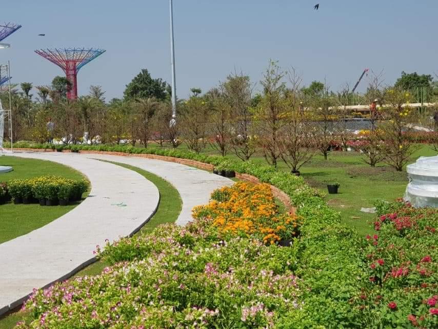Hội hoa xuân 2020 Vinhomes Grand Park