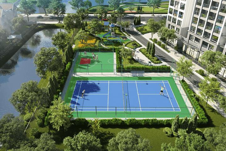 Sân thể thao Nội thất căn hộ Vinhomes Grand Park
