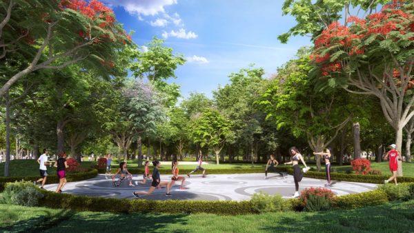 Công viên Aerobic Vinhomes Grand Park