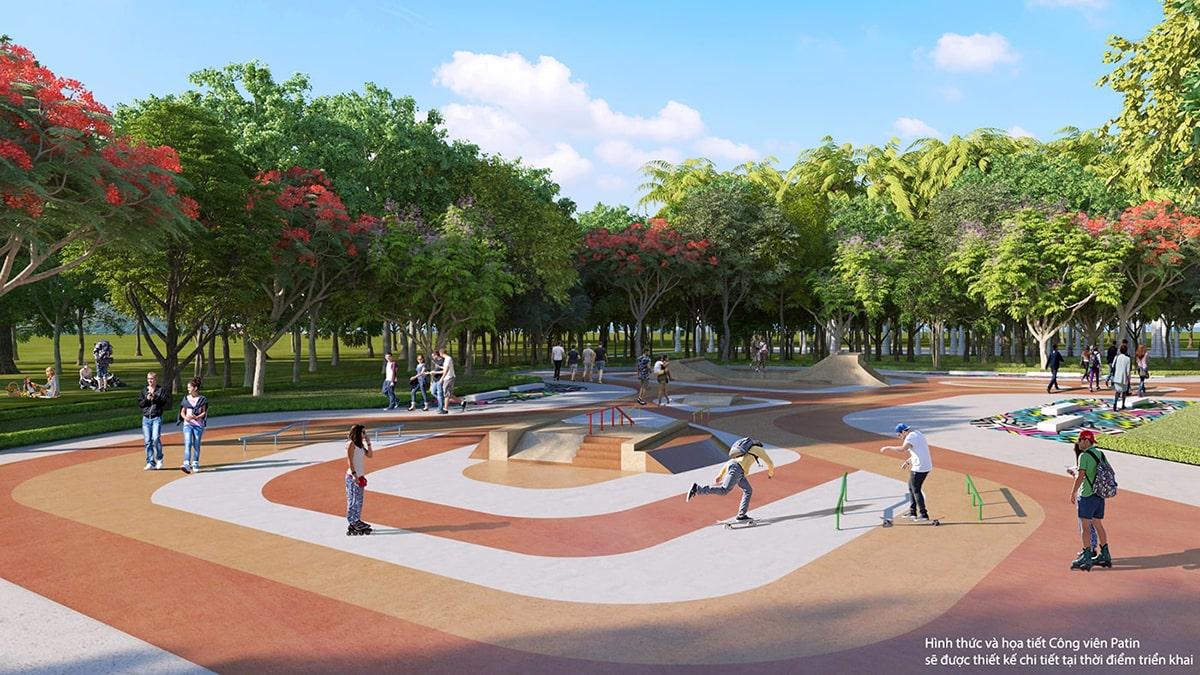 Công viên Patin Vinhomes Grand Park