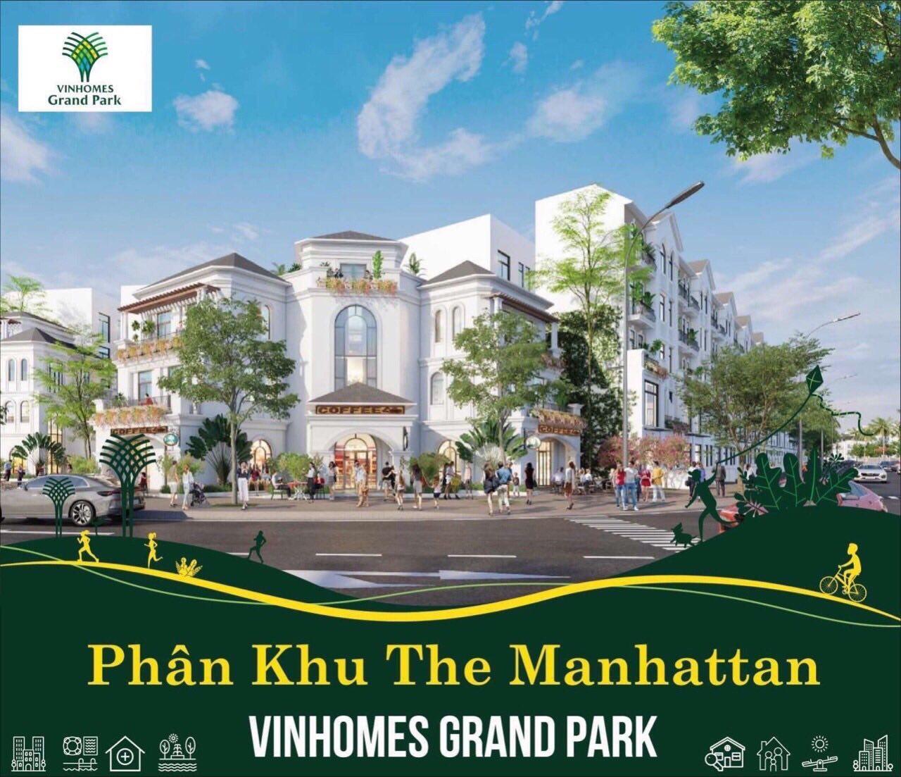 Shop villa Vinhomes Grand Park quận 9