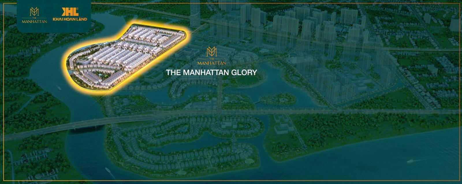 Vị trí & mặt bằng The Manhattan Glory Vinhomes Grand Park, quận 9, TP HCM