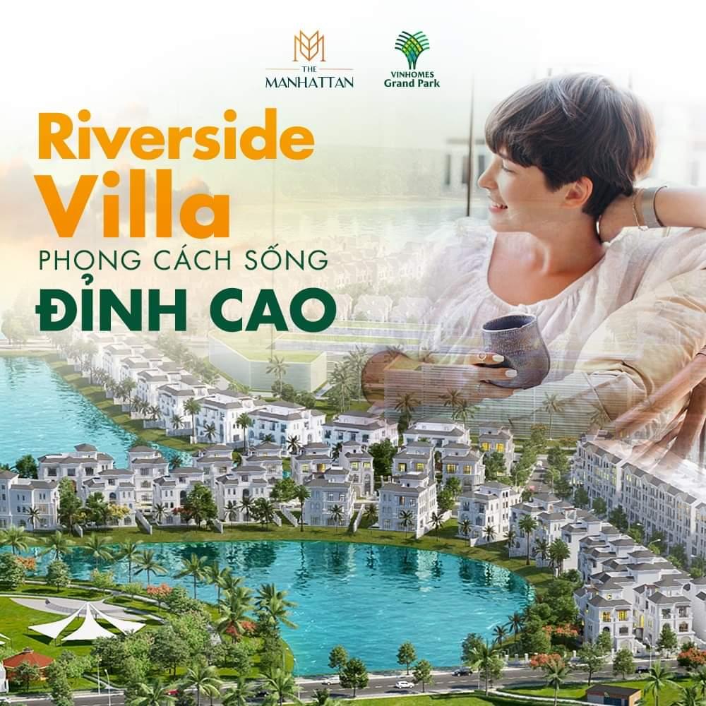 Biệt thự Riverside Villa Vinhomes Grand Park, quận 9, TP HCM