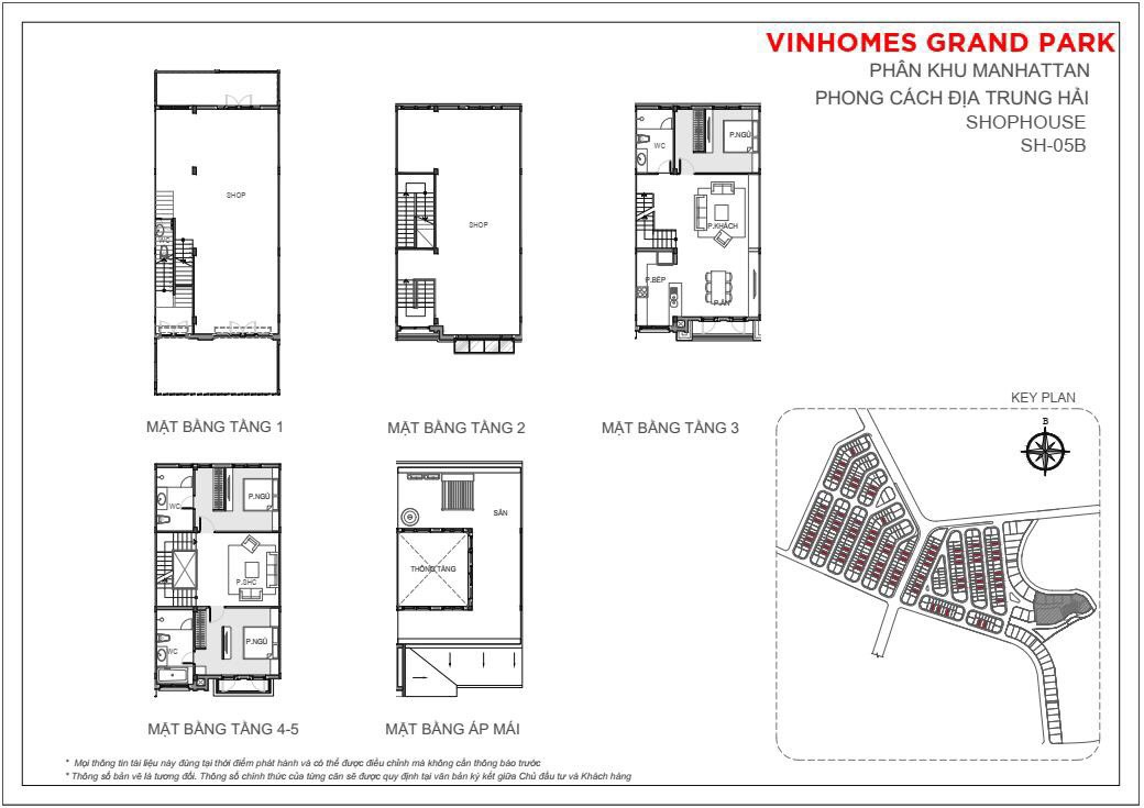 Mặt bằnshophouse 126m2 The Manhattan Glory Vinhomes Grand Park, quận 9, TP HCM