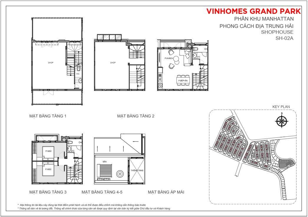 Mặt bằnshophouse 84m2 The Manhattan Glory Vinhomes Grand Park, quận 9, TP HCM