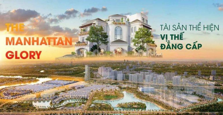 Shop Villa The Manhattan Glory tài sản thể hiện vị thế đẳng cấp