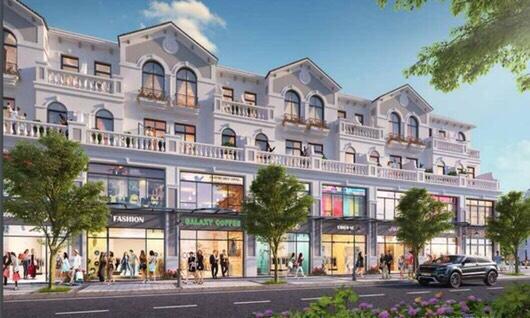 Shophouse Đông Dương tại The Manhattan Glory