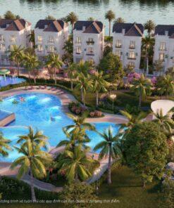 Hồ bơi tiêu chuẩn Resort 5 sao tại The Manhhattan Glory