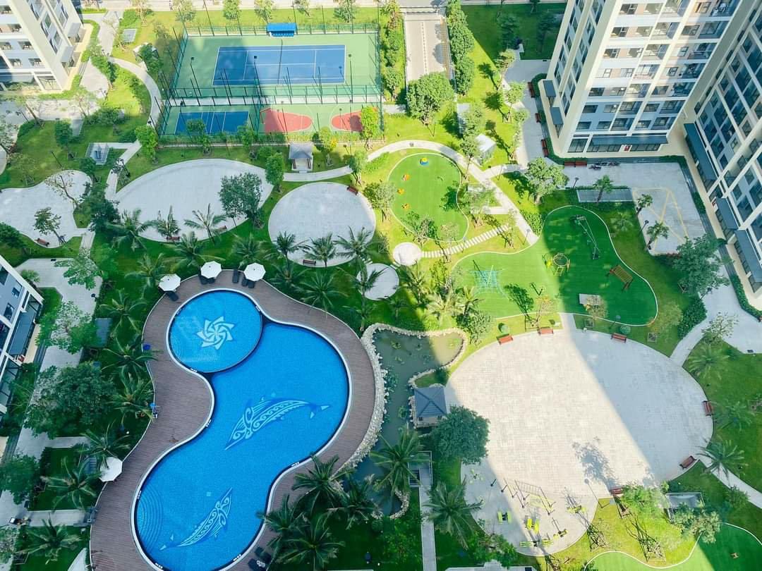 Nhà mẫu Căn hộ 2PN+1 The Rainbow Vinhomes Grand Park
