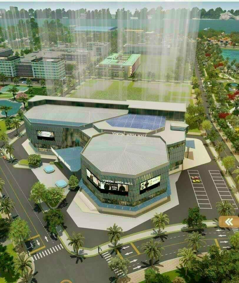 Vincom Mega Mall diện tích 48.000m2 lớn nhất Tp.HCM